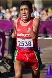 Hernandez in de T46 Marathon Royalty-vrije Stock Afbeelding