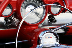 Hernando County Car Show. Details of the cars at the car show stock photography