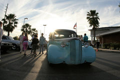 Hernando County Car Show. Car Classic dreamers and drivers gather around every thursday to show off their antique cars royalty free stock image