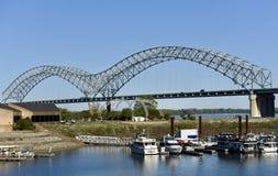 Hernando de Soto Bridge Stock Photography