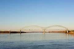 Hernando deSoto Bridge Stock Image