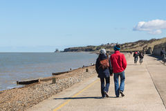 Herne Bay Promenade Royalty Free Stock Photography