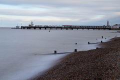 Herne Bay seafront Royalty Free Stock Photos