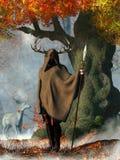 Herne de Jager stock illustratie