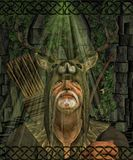 Herne the Hunter English folklore Celtic god. Herne the Hunter English folklore, Herne the Hunter is a ghost associated with Windsor Forest and Great Park in the vector illustration