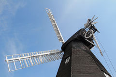Herne village windmill Stock Photography