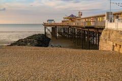 Herne zatoka, Kent, Anglia, UK fotografia stock