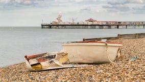 Herne zatoka, Kent, Anglia, UK zdjęcie stock
