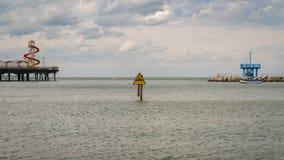 Herne zatoka, Kent, Anglia, UK obrazy royalty free