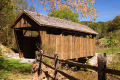Herns Mill Covered Bridge. In West Virginia Royalty Free Stock Photography