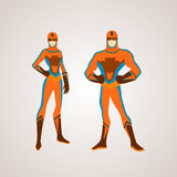 Hero royalty free illustration