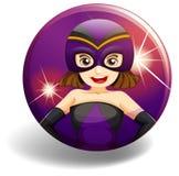 Hero badge Royalty Free Stock Photo