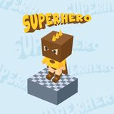 Hero character option game assets element Stock Photography