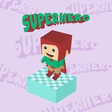 Hero character option game assets element Royalty Free Stock Photography