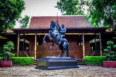 The hero house in Thai literature 3 stock images
