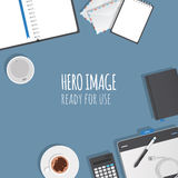 Hero image Royalty Free Stock Image