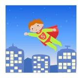 Hero_kid eccellente I illustrazione di stock