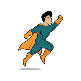 Hero. Modern and playful hero character Royalty Free Stock Images