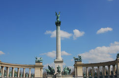 Hero's square. Budapest, Hungary Royalty Free Stock Photography