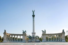 Hero's Square Budapest Royalty Free Stock Photography