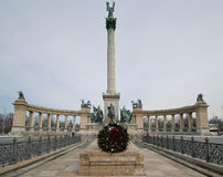 Hero's Square - Budapest 2 Royalty Free Stock Image