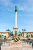 Hero's Square, Budapest Royalty Free Stock Photography
