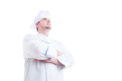 Hero shot of a proud and confident chef or cook Stock Images