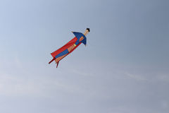 Hero in sky Royalty Free Stock Photo