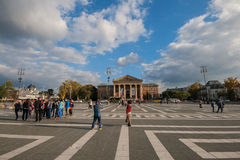 Hero Square Royalty Free Stock Photo