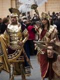 Herod en Herodias Royalty-vrije Stock Afbeelding