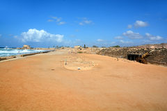 Herod the Great built a hippodrome Stock Images
