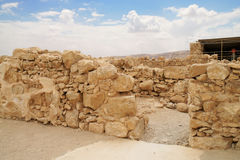 Herod's fortress ruins Royalty Free Stock Photos