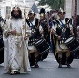 Herod und Soldaten Stockbild
