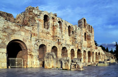 Herodes Atticus theater Stock Images