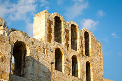 Herodes Atticus theatre Royalty Free Stock Photos