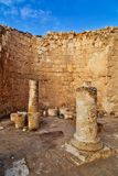 herodion以色列废墟 图库摄影