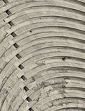 Herodion ancient theater, Athens Greece. Bleachers of Herodion ancient theater, Athens Greece Stock Images