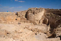 Herodion ruins in Israel Royalty Free Stock Photo