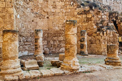 Herodion ruins in Israel Stock Photography