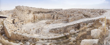 Herodium,以色列 库存照片