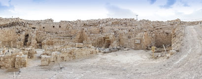 Herodium,以色列 免版税库存照片