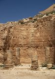 Herodium castle ruins Royalty Free Stock Photography