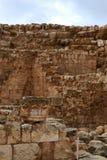 Herodium Herodion, крепость Herod большая, взгляд палестинской автономии, westbank, Палестины, Израиля стоковая фотография