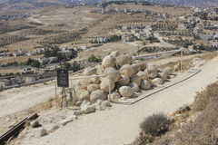 Herodium Nationaal Park in Israël Stock Fotografie