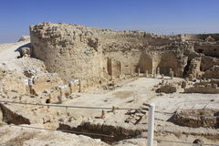 Herodium National Park in Israel Royalty Free Stock Photos