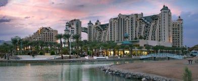 Herods and Dan resort Hotels of Elat,Israel Royalty Free Stock Image