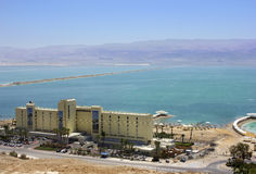 Herods Hotel Dead Sea, Israel Stock Photography