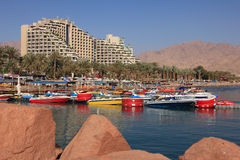 Herods pałac hotel. Eilat. Izrael. Fotografia Stock