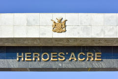 Heroes Acre, Windhoek, Namibia, Africa. Heroes' Acre is an official war memorial of the Republic of Namibia Stock Images