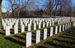 Heroes Cemetary Royalty Free Stock Image